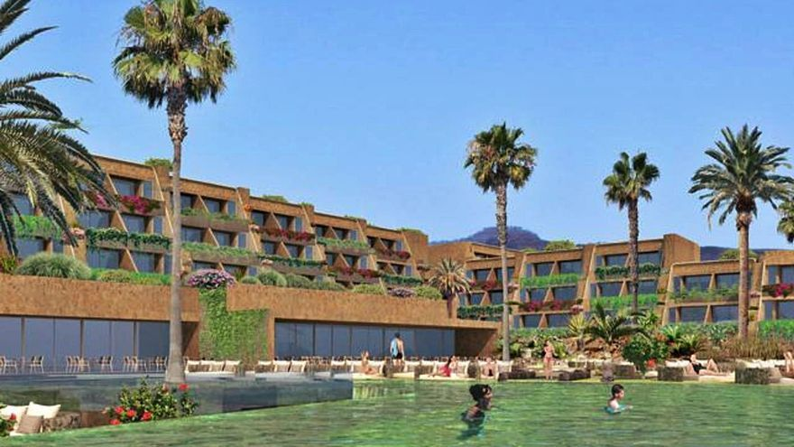 San Bartolomé da luz verde a un hotel, 37 suites y 14 villas en Monte León