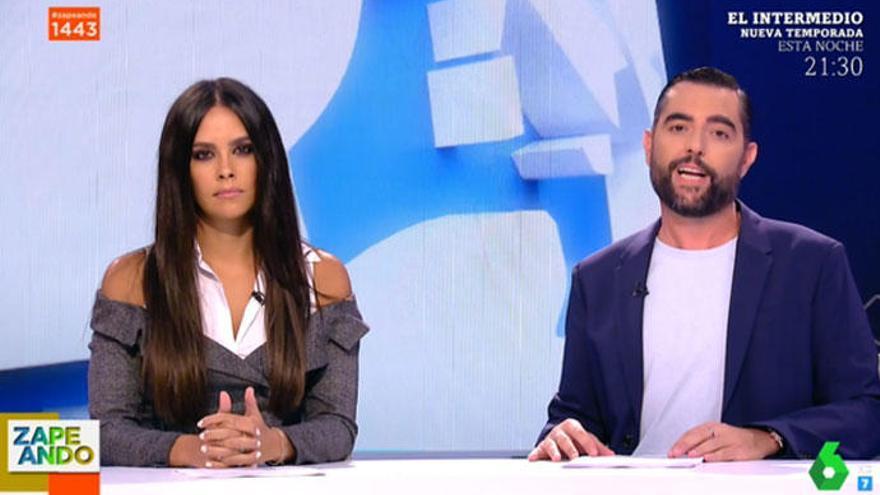 Dani Mateo estrena el nuevo 'Zapeando' con cientos de criticas en las redes
