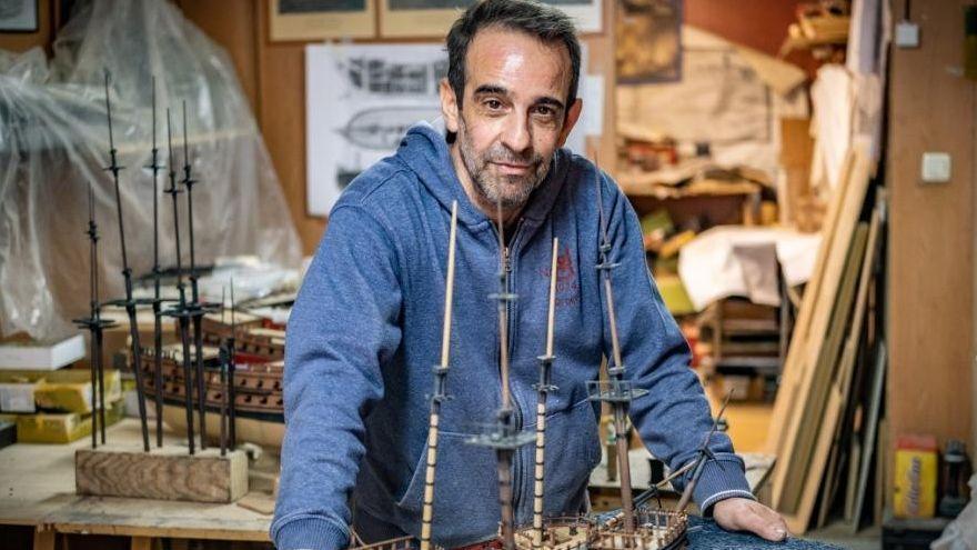 El referente europeo del modelismo trabaja en el Casco Antiguo