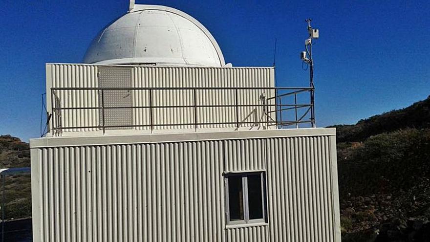 Astrónomos aficionados solicitan  el telescopio más antiguo del Roque