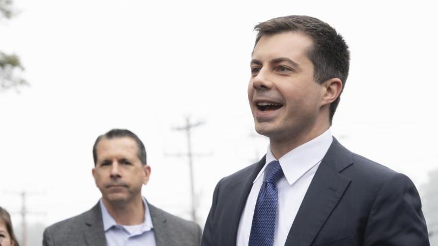 Buttigieg gana Iowa con menos votos que Sanders
