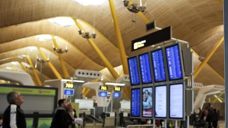 Una falsa alarma activa la alerta en la T4 de Barajas
