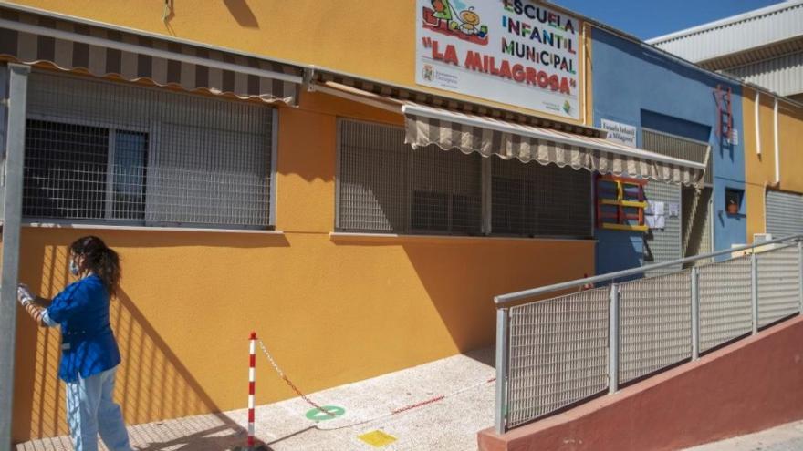 El plazo de matriculación de las Escuelas Infantiles de Cartagena empieza el 1 de marzo