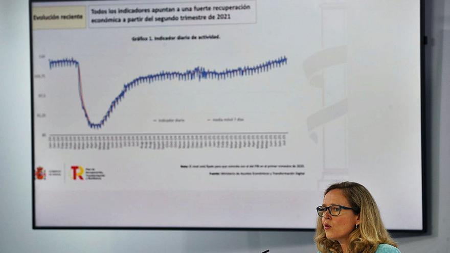 El Gobierno prevé que la economía recupere en 2022 el nivel previo a la pandemia