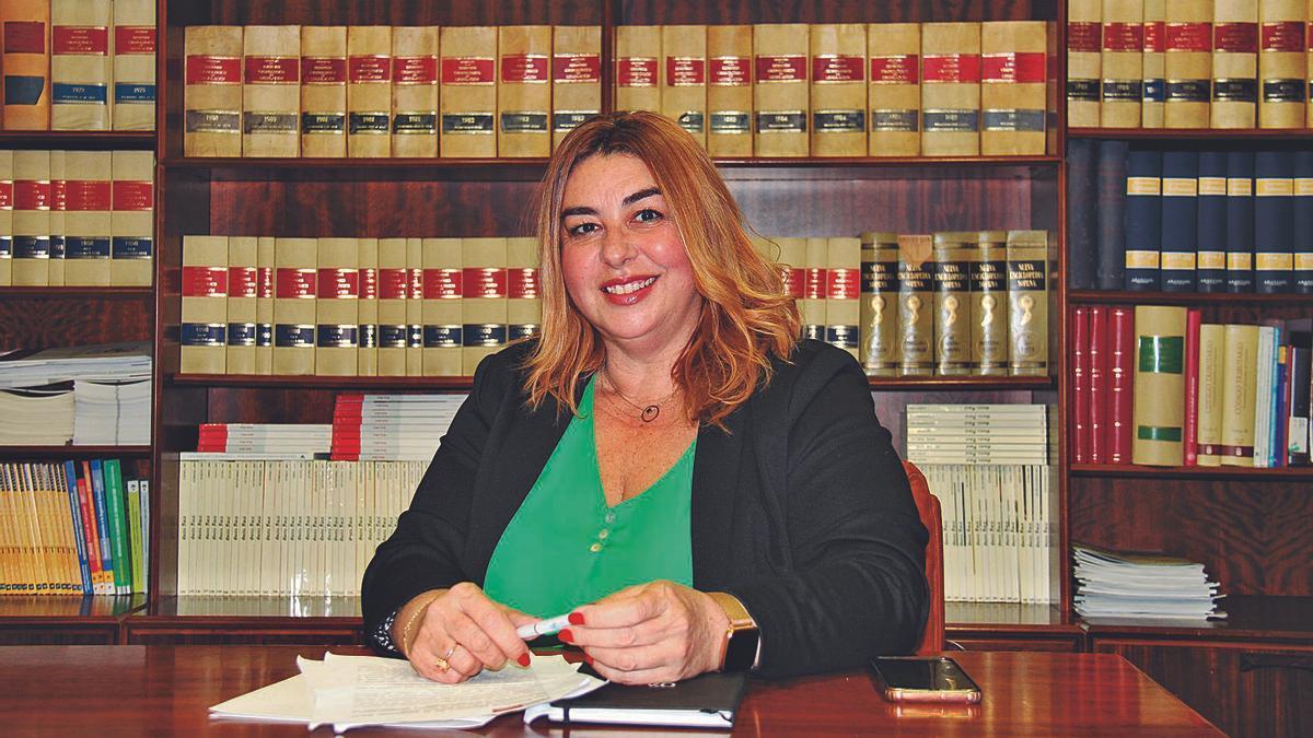 Estefanía Hernández Pérez, presidenta del Colegio de Gestores Administrativos de Santa Cruz de Tenerife