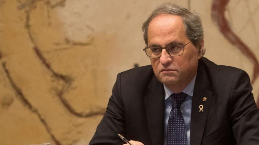 JxCat, ERC y CUP pedirán en el Parlament la libertad de los CDR detenidos