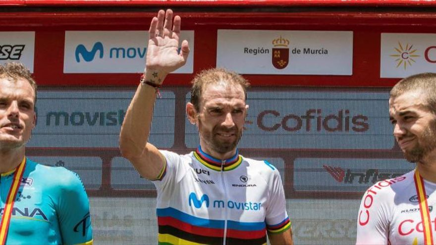 Alejandro Valverde no defenderá su título de campeón de España