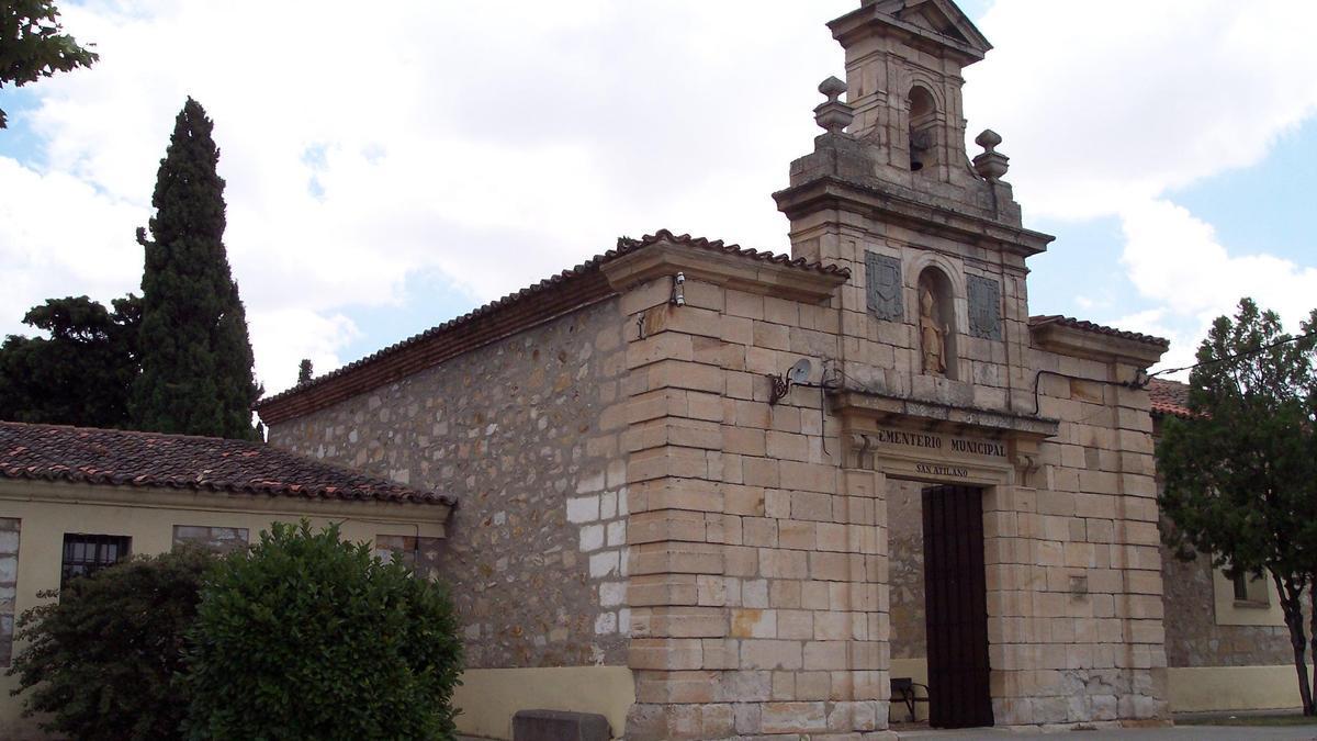 Cementerio de San Atilano, en la capital.