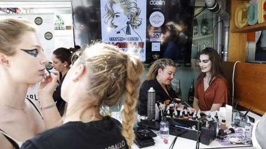 La alquimia de los maquilladores