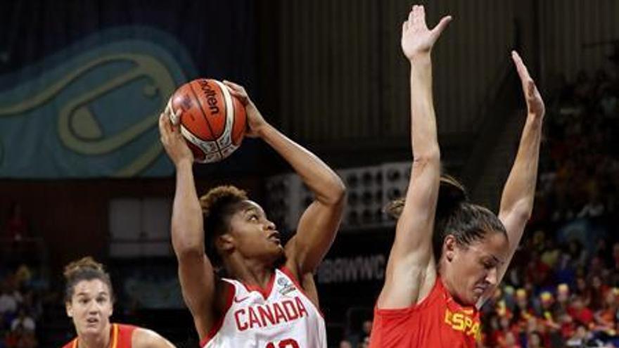 España gana con brillantez a Canadá y se medirá en semifinales a Australia