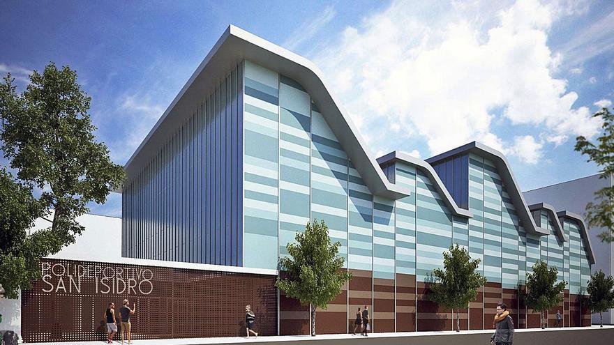 El polideportivo de Sant Isidre estará en 2022 y acaba con años de reivindicación
