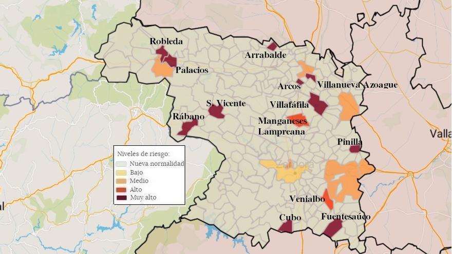 Zamora se libra del cierre de bares, ya que se aplicará sólo a localidades mayores de cinco mil habitantes