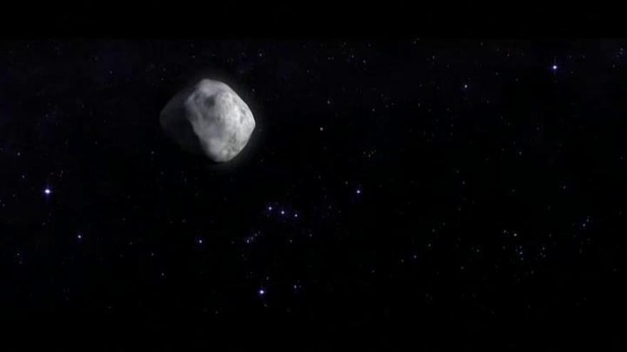 La nave Osiris-Rex de la NASA hace historia al recoger muestras del asteroide Bennu