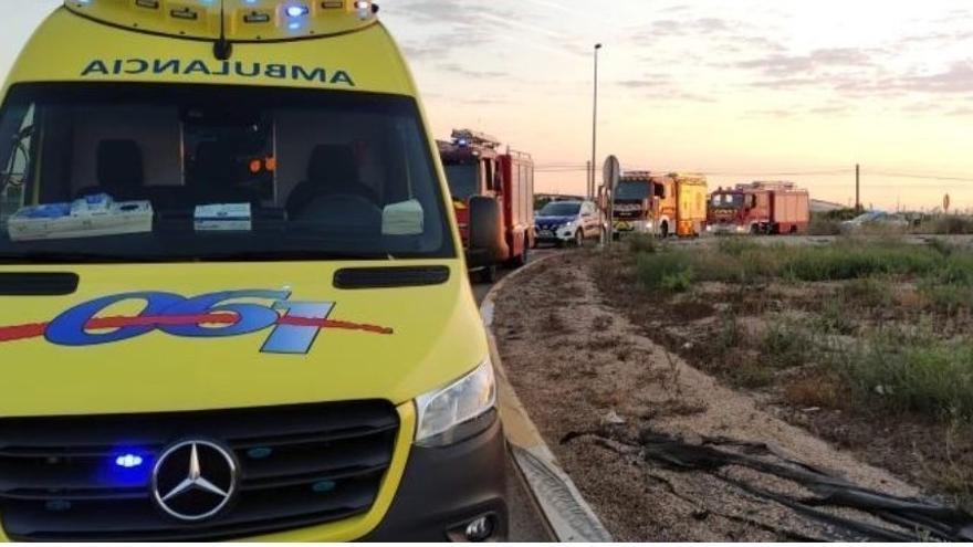 Un joven de 25 años muere tras chocar con una rotonda en San Javier