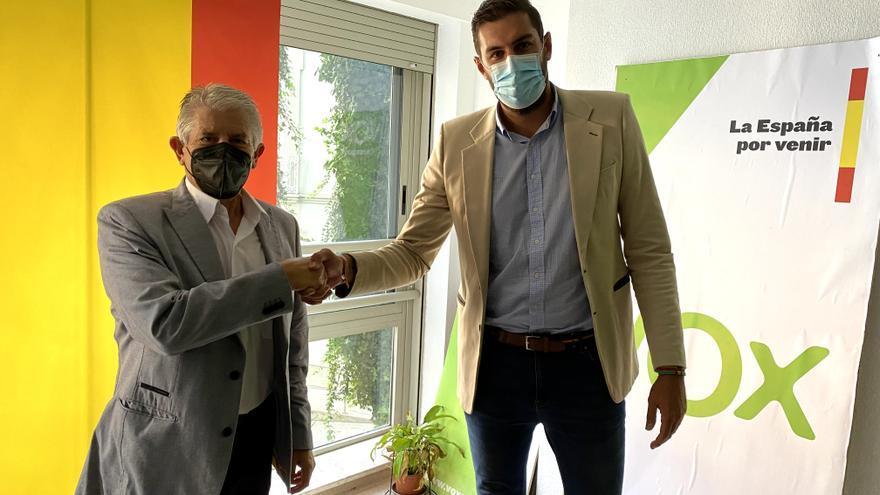 Alonso Gómez, exconcejal del PP en Cartagena, se pasa a Vox