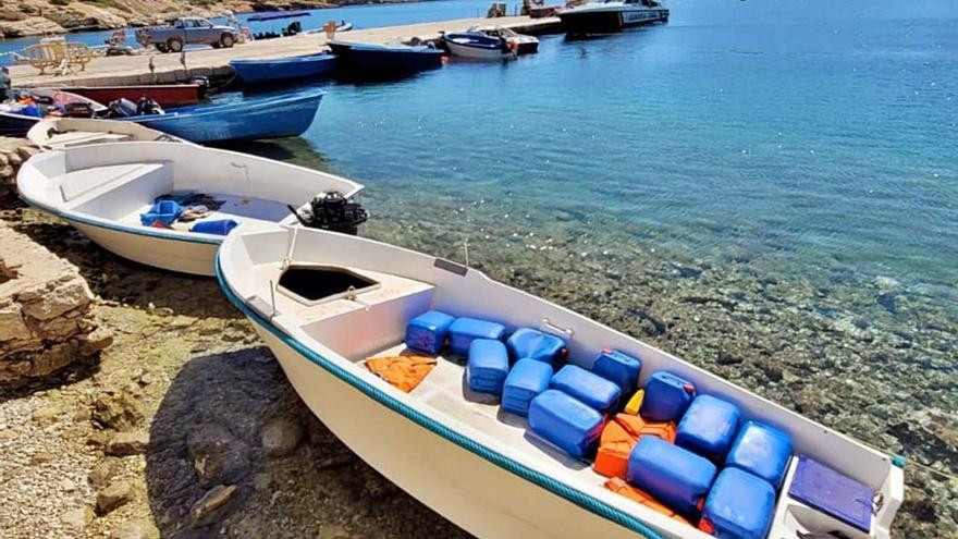 Nueva llegada masiva de pateras localizadas cuando navegaban por Baleares