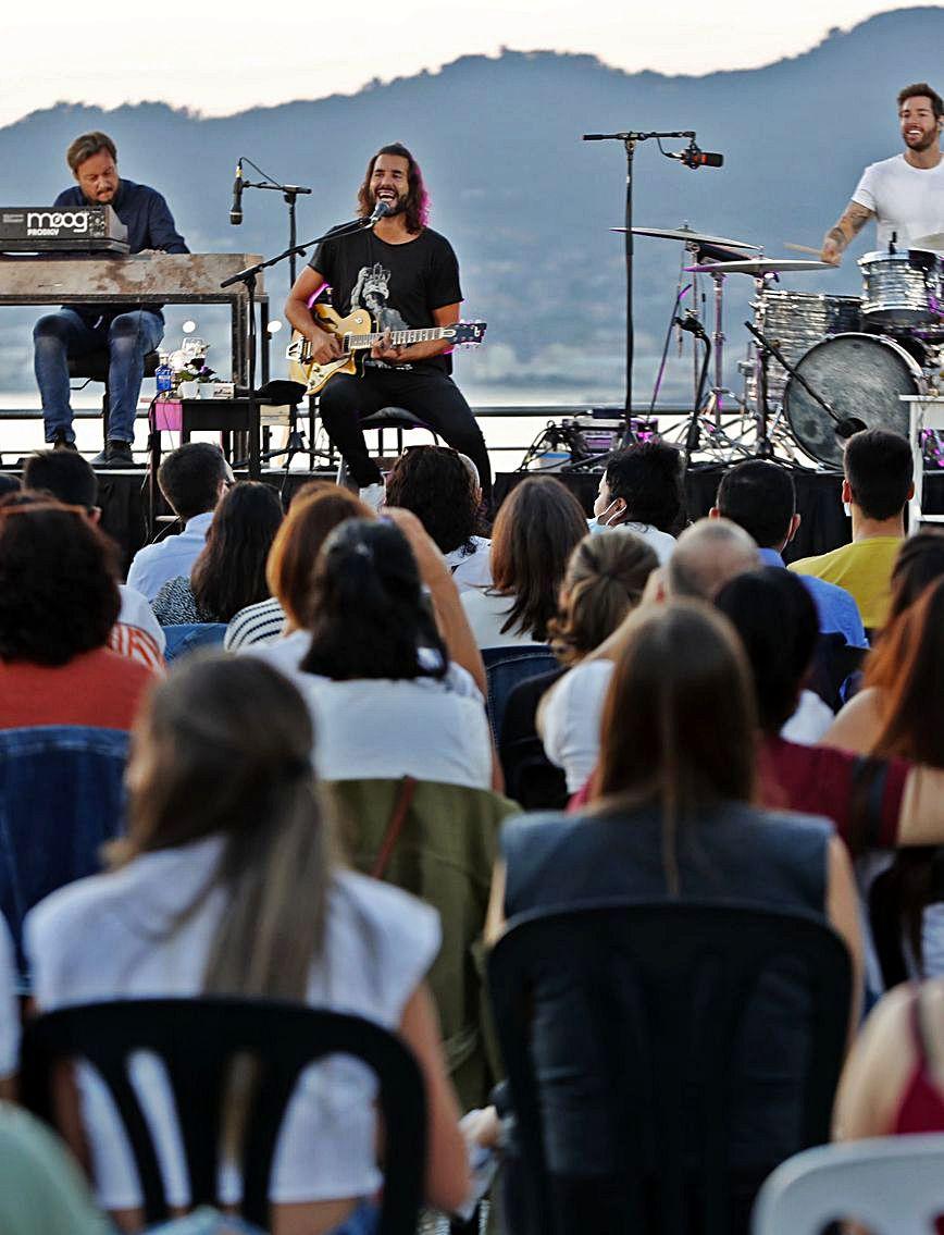 Izal, en el TerraCeo del Auditorio Mar de Vigo