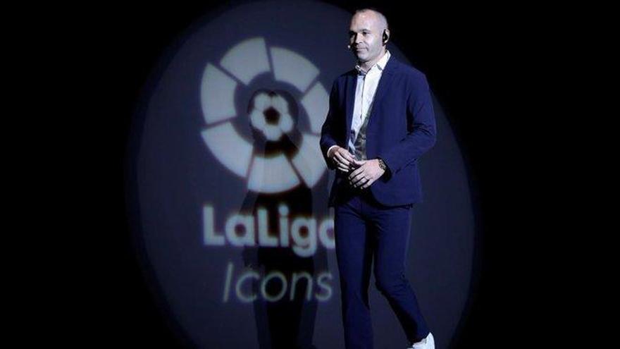 Iniesta, nuevo embajador de la Liga
