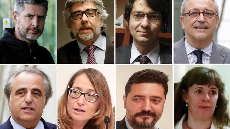 Qui són els advocats de la defensa del judici al procés?