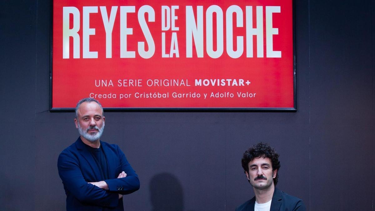 Javier Gutiérrez y Miki Esparbé, protagonistas de 'Reyes de la noche'.