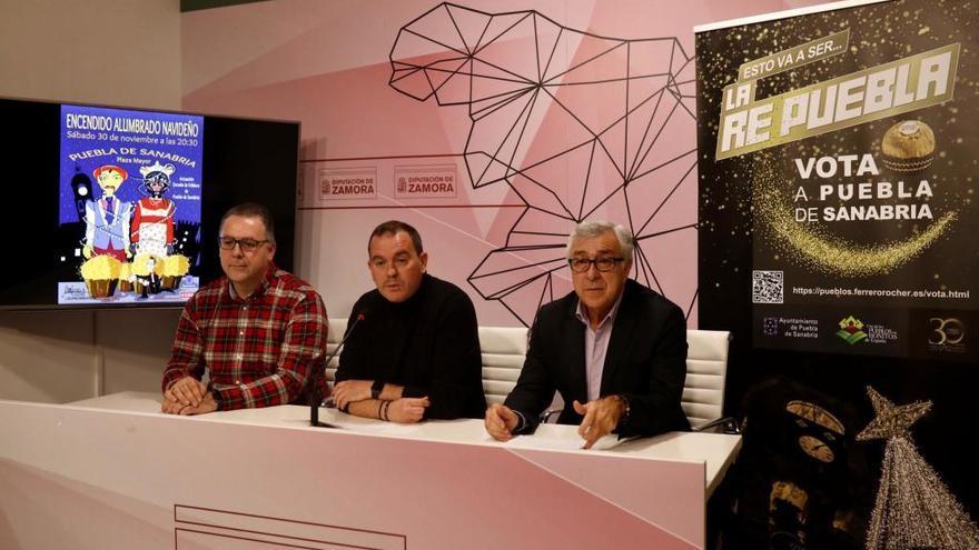 Un proyecto de iluminación de 60.000 euros permite a Puebla posicionarse en la carrera por las campanadas