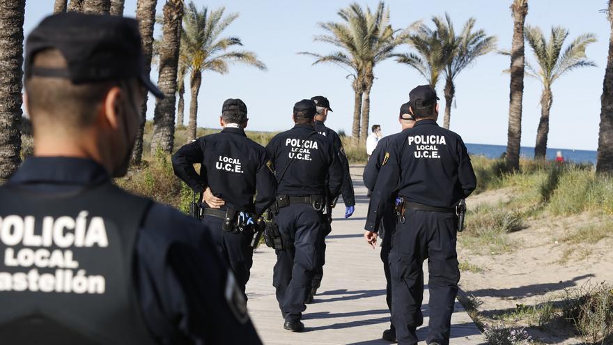 Cerco al botellón en Castellón el primer fin de semana sin el estado de alarma