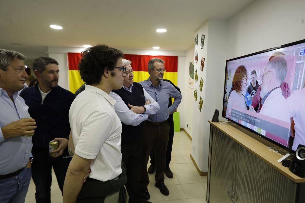 Noche electoral de Vox en Asturias