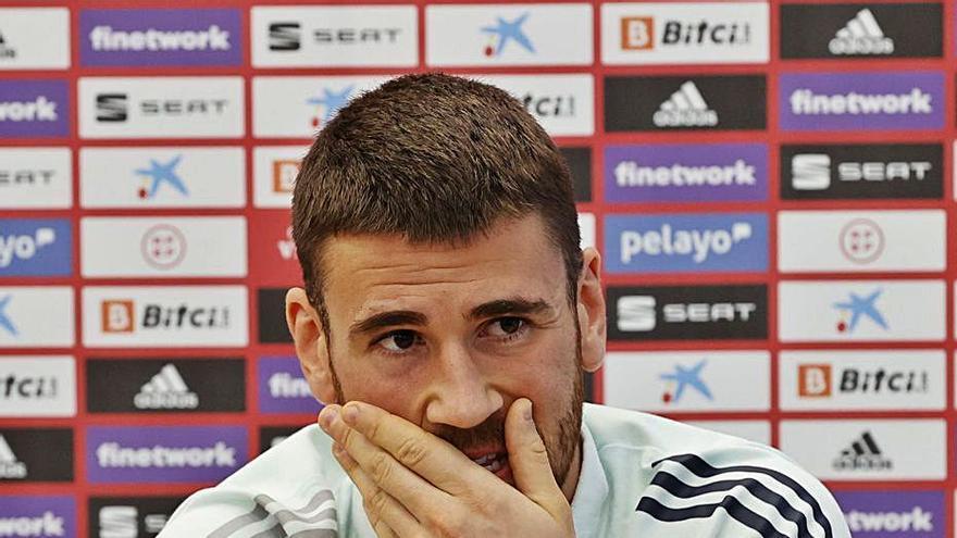 """Unai Simón: """"No soy el portero del primer gol"""""""