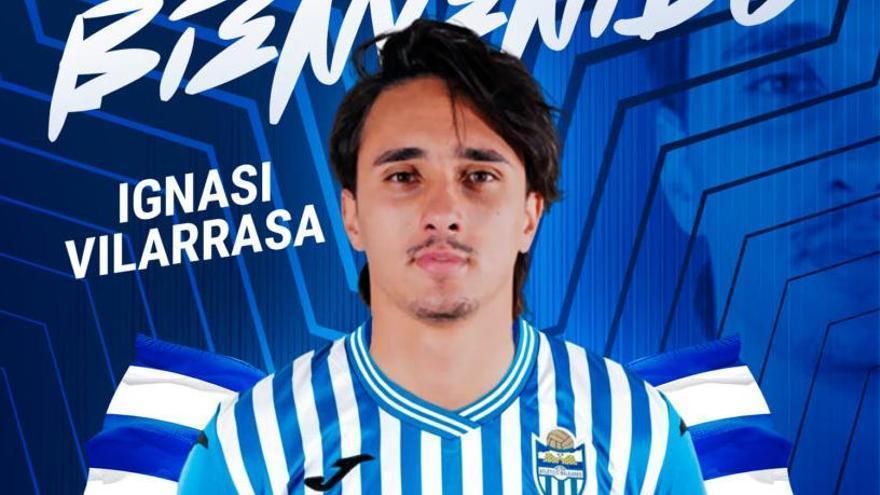 Ignasi Vilarrasa, el décimo fichaje del Atlético Baleares
