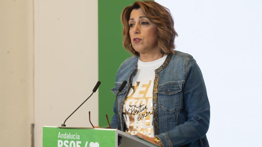 """Susana Díaz espera que Ferraz sea """"garantista"""" y permita """"votar en libertad"""""""