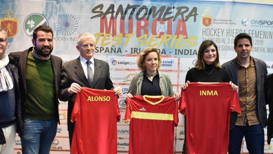 La selección femenina disputará 4 partidos ante India e Irlanda en Santomera
