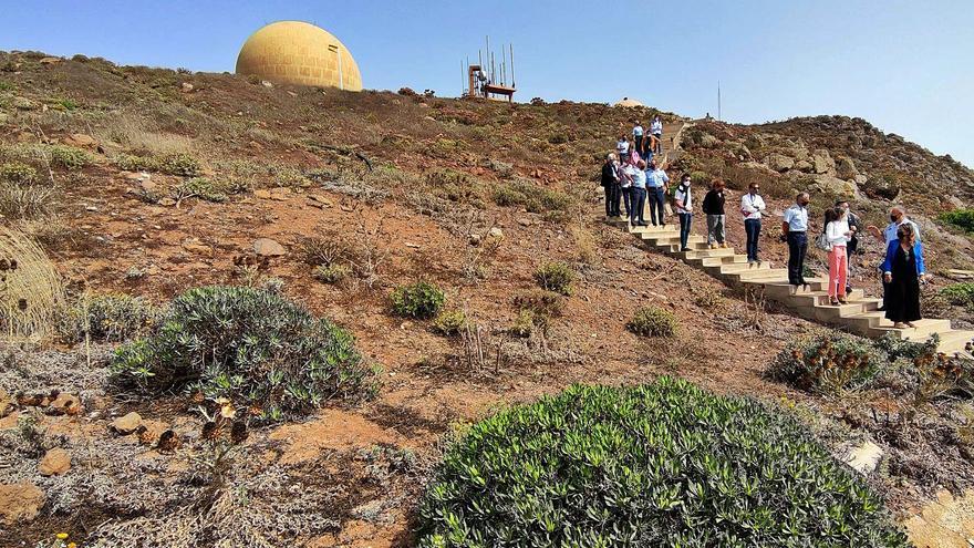 Gobierno de Canarias y Defensa reverdecerán las cumbres de Famara