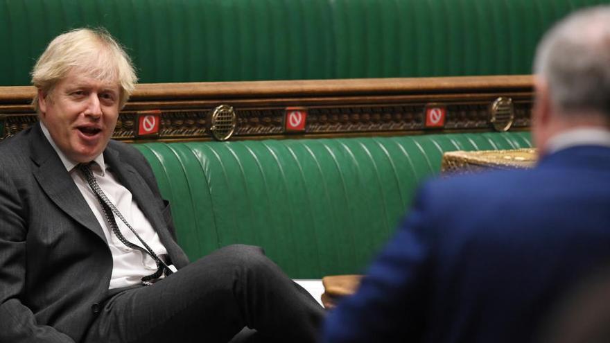 """Johnson recibe con """"entusiasmo"""" el acuerdo sobre el Peñón"""