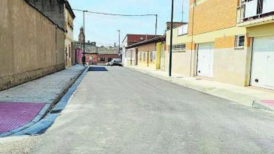 Más de 576.000 € de inversión en el asfaltado de calles