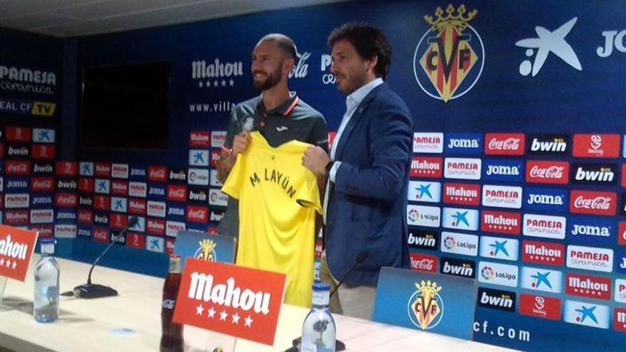 """Layún: """"En pocos días en el Villarreal me han hecho sentir como de su familia"""""""