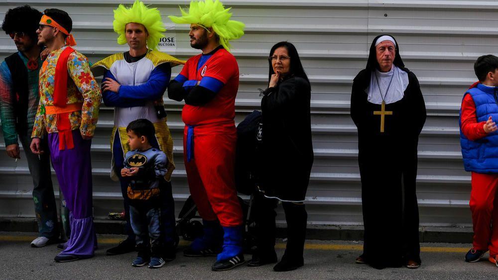 Domingo de Carnaval en el Centro