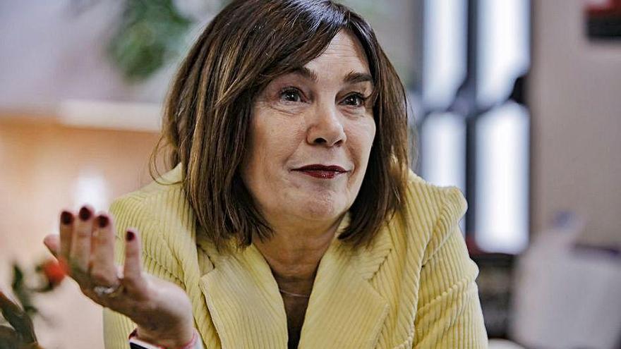 """Charo Izquierdo: """"Las mujeres aparecen como víctimas y artistas, pero no como referentes"""""""
