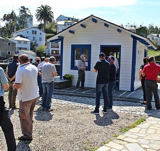 Inauguración de la Oficina de Turismo de Viavélez.   T. Cascudo