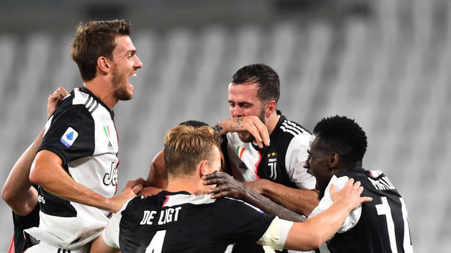 La Juventus levanta su noveno Scudetto seguido