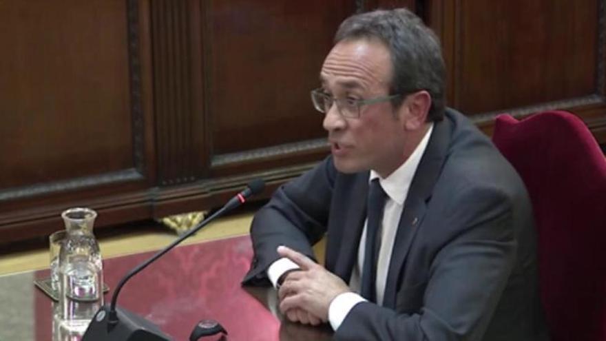 El TC també confirma la condemna per sedició de Josep Rull pel procés