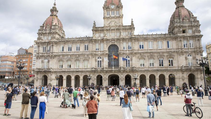 Concentraciones en A Coruña en repulsa por el crimen de Samuel Luiz Muñiz
