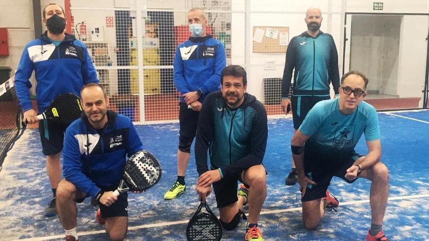 El Caja Rural sigue intratable en la Liga Amateur de Pádel