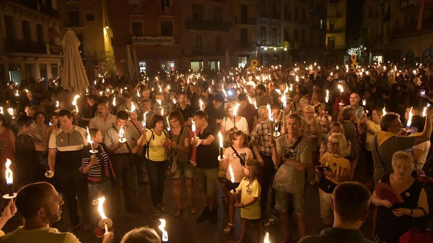 Manresa podrà tenir una Marxa de Torxes en moviment gràcies a l'aixecament de restriccions de la Generalitat