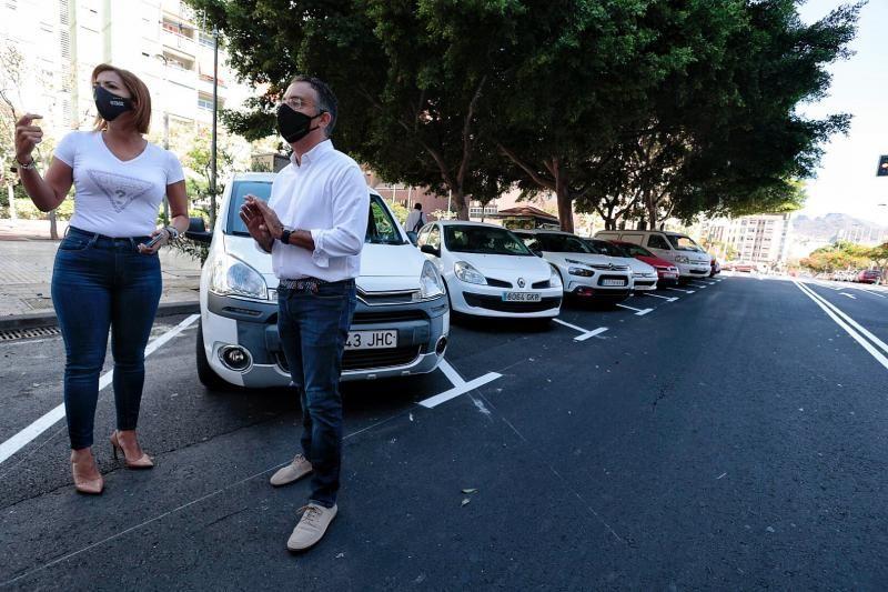 Nueva distribución de aparcamientos en Tomé Cano para suprimir la doble fila