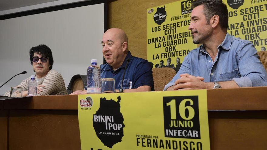 Los Secretos, Coti, Danza Invisible, La Guardia, OBK y La Frontera vendrán a Infecar