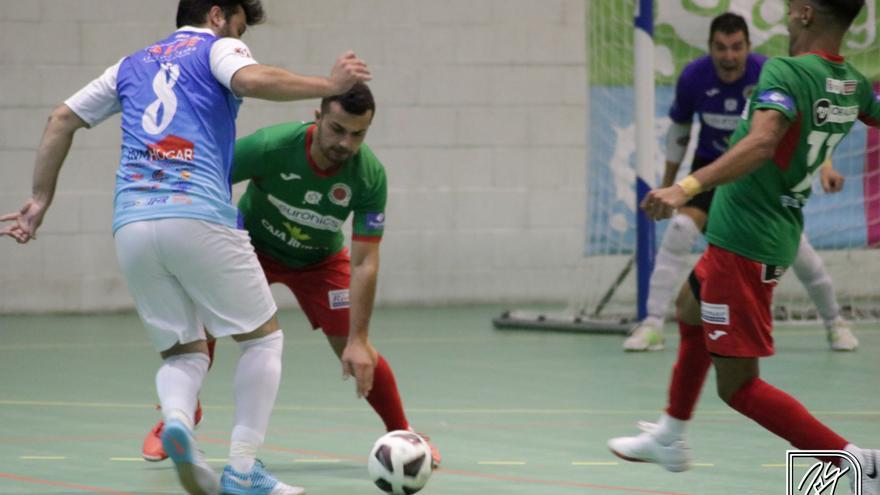 Derrota del InterSala Zamora ante el campeón (3-5)