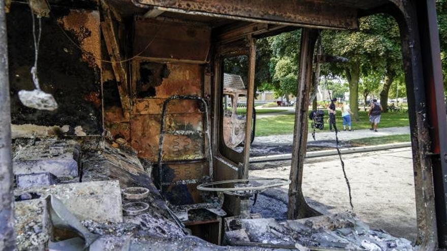 Disturbios en Wisconsin por los disparos de un policía contra un hombre negro desarmado