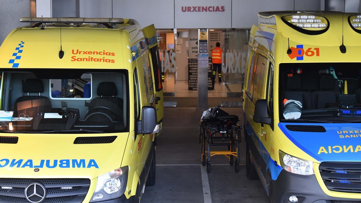 Entrada de Urgencias del Hospital Universitario de A Coruña. / FdV