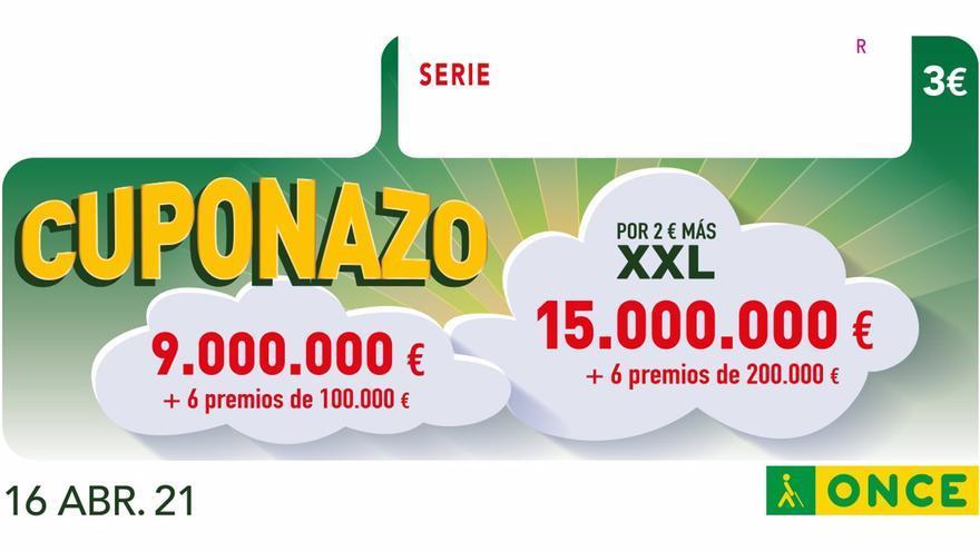 El Cuponazo de la ONCE deja 245.000 euros en Málaga capital
