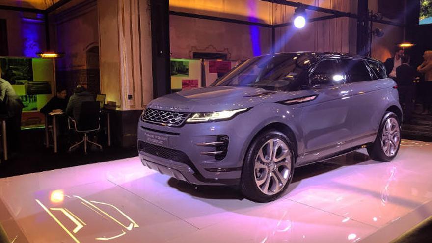 Magnífica acogida del nuevo Range Rover Evoque en València